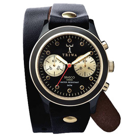 TRIWA - EBONY TWIST BRASCO CHRONO / BLK
