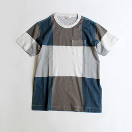 YMC - CHECK POCKET TEE