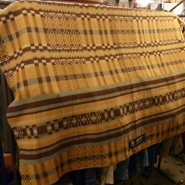 Horse Blanket Research - 006 Jacquard (Mustard)