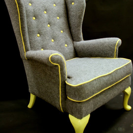katepritchard - Cedrick - Wing back arm chair