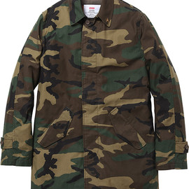 Supreme - Army trench coat