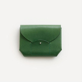 irose - ric-rac mini wallet / green