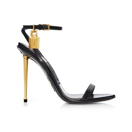 TOM FORD - LEATHER SIMPLE STRAP EVENING SANDAL