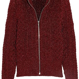 Isabel Marant - Daley cable-knit Lurex cardigan