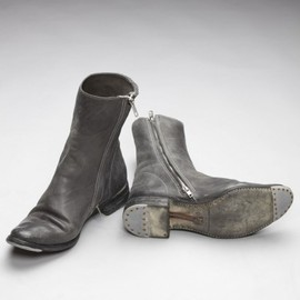 Carol Christian Poell - Object Dyed Reverse Cordovan Unconstructed No-Seam Boots