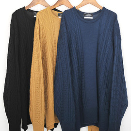 "DISCOVERED, ARAN st SWEATER - 2011 A/W ""KNIT"""