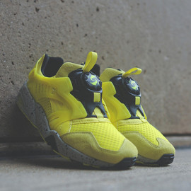 PUMA - disc-blaze-mesh-evolution-fluorescent-yellow-black