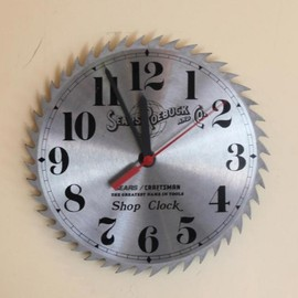 Sears Roebuck and Co. シアーズ - Tip Saw Clock  ソークロック
