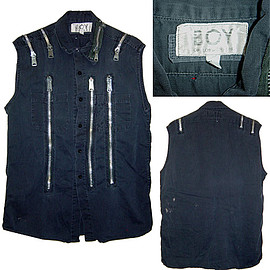 BOY LONDON - 80's BOY LONDON (VINTAGE) Zip Shirt ボーイロンドン ジップシャツ