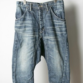 ANREALAGE - RIGHT HAND LEFT HAND SAROUEL PANTS/WASH