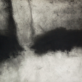 Doug Kinsey - Waking Into The Desert Dream, Drawing, charcoal on paper, 2012,