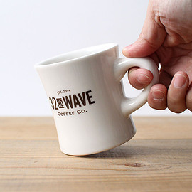 32nd Wave Coffee - Original Logo Diner Mug