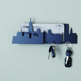 Nexxt - Cityscape Wall Mounted Key and Mail Hold