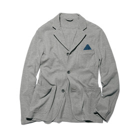 uniform experiment - COTTON SEED STITCH 3 BUTTON JACKET