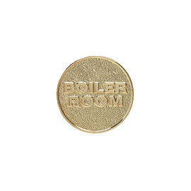 Boiler Room - OG Gold Logo Pin