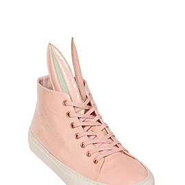 MINNA PARIKKA - BUNNY PATENT LEATHER SNEAKERS