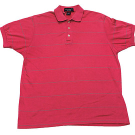 Gant Rugger - Vintage 90s Pink Gant Rugger Polo Shirt Made in USA Mens Size Small