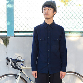 BLUE LUG - *BLUE LUG* bike work shirt (navy)