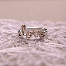 u∞e jewelry - LOVE ring