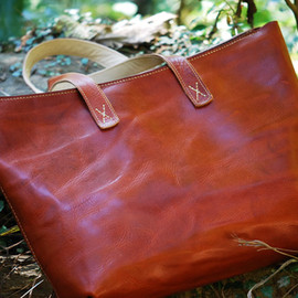 Leather Factory ROBERU - Leather Tote