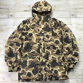 Columbia - Columbia Camouflage Heavy Hunting Jacket Mens Size Large