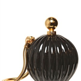 LANVIN - ENAMELED RESIN PERFUME SHOW CLUTCH
