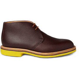 Mark McNairy New Amsterdam - Chukka Boots with Contrasting Soles