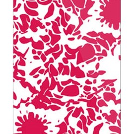 SECOND SKIN - kion 「flower mediumvioletred」 / for iPhone 5s/au