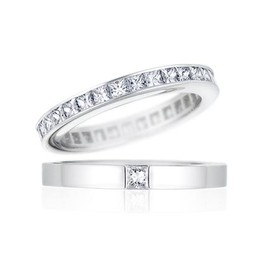 HARRY WINSTON - Princess Cut Diamond Ring