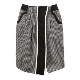 mame - MONOTONE TIGHT SKIRT