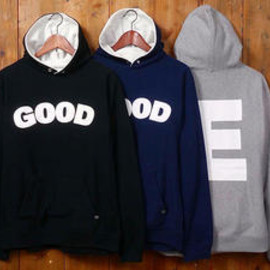GOODENOUGH - good E reverse hoody