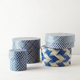 Woven Palms Basket #anthropologie