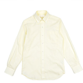 The FRANKLIN TAILORED - Color Ox BD Shirt-Yellow