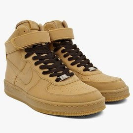 Nike - Men's AF1 Downtown Hi Gum LW QS Sneakers