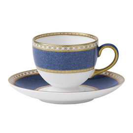 WEDGWOOD - Ulander Powder Blue Leigh Teacup