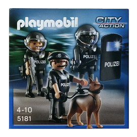 playmobil - CITY ACTION POLIZEI