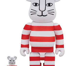 "MEDICOM TOY - BE@RBRICK ""MIKEY"" FLOCKY Ver. 100% & 400%"