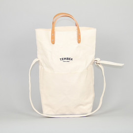 Tembea - Messenger Bag in Natural Canvas