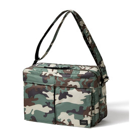 "HEAD PORTER - ""AMBUSH"" SHOULDER BAG (LM)"