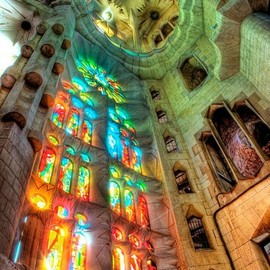Spain ,Barcelona - Sagrada Familia