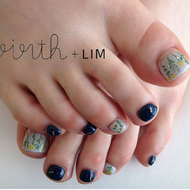 virth+LIM - foot nail 植物