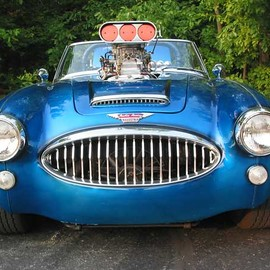 Austin Healey BJ8 phase I Supercharger