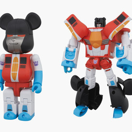 TAKARA TOMY/MEDICOM TOY - BE@RBRICK × TRANSFORMERS  STARSCREAM