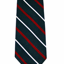 Brooks Brothers - Vintage Brooks Brothers All Silk Red / White / Blue Striped Necktie