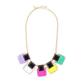 kate spade NEW YORK - COLOR WHEEL SHORT NECK