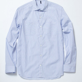 ETHOS - STRIPE SHIRTS (FABRIC by Albini )