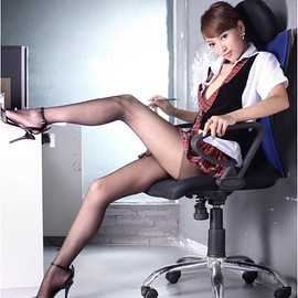 Cute Chinese Girl with nice legs - Cute Chinese Girl with nice legs