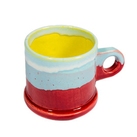 Peter Shire - Double-Dipped Red Mug