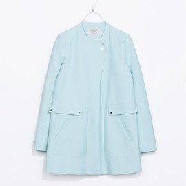 ZARA - STRAIGHT CUT COAT