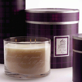 """Shearer Candles - """"Ae Fond Kiss"""" Whisky Goblet Candle"""